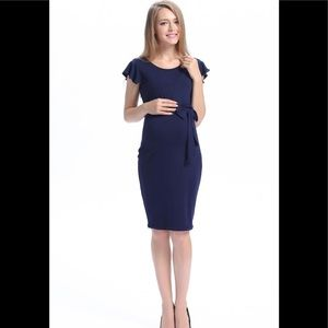 Kimi + Kai maternity dress. B